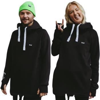 bro! Chill N'shred Unisex Ski/Snowboard Hoodie, S Snake Oil