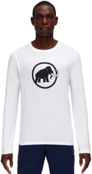 Mammut Classic Longsleeve Men's Logo T-Shirt, L White