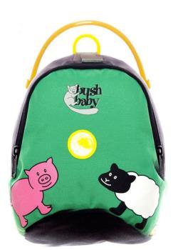 Bushbaby Minipack Kid's Backpack - 2.5L, Green