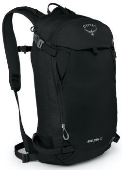 Osprey Soelden 22 Ski/Snowboard Backpack, 22L Black