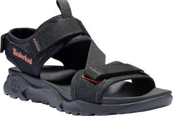 Timberland Ripcord 2-Strap Men's Sandal, UK 11.5 Black Webbing