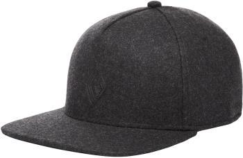 Black Diamond Wool Trucker Hat Classic Flat Brim Cap, Smoke