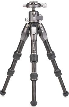 Benro Tortoise 03C + GX25 Kit Travel Camera Tripod + Ballhead, Black