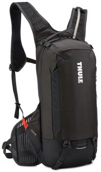 Thule Rail Bike Cycling Hydration Backpack, 12L Obsidian