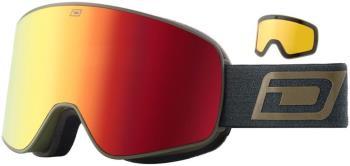 Dirty Dog Mutant Legacy Red Fusion Ski/Snowboard Goggles L Black-Grey