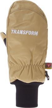 Transform Photo Incentive Ski/Snowboard Mitts, XL Tan
