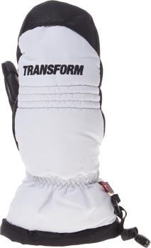 Transform Throwback Ski/Snowboard Mitts M White