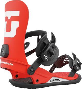 Union Strata Team Snowboard Binding, M Red 2022