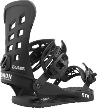 Union STR Snowboard Binding, M Black 2022