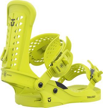 Union Trilogy Womens Snowboard Bindings, M Flo. Yellow 2022
