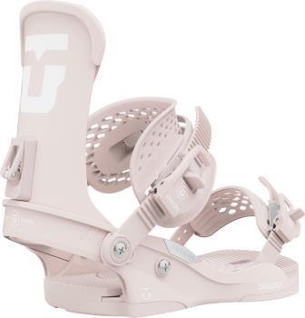 Union Trilogy Team Womens Snowboard Bindings, S Soft Pink 2022
