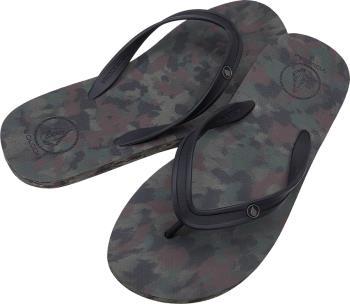 Volcom Adult Unisex Rocker 2 Solid Open Toe Sandal Flip Flops, Uk 11 Dark Camo