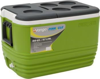 Vango Pinnacle 80HR Camping Coolbox, 57L Green