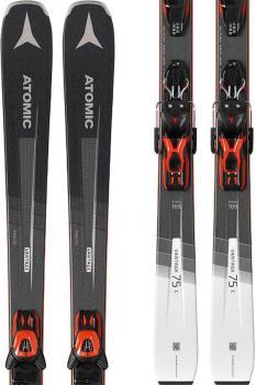Atomic Vantage 75 C Ex Display Skis, 169cm + L10 Black/Grey