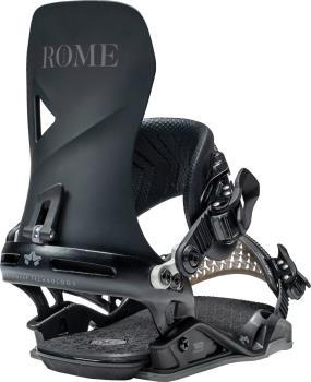 Rome Vice Snowboard Bindings, M/L Black 2021