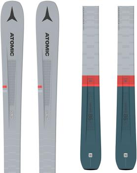 Atomic E Vantage 86 C R LT Ex Display Skis, 181cm + M10 Grey/Blue