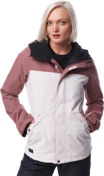 Volcom Womens Bolt Insulated Women's Ski/Snowboard Jacket, Uk 14 Faded Pink