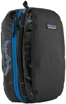 Patagonia Medium Black Hole Cube Duffel Travel Bag, 6L Black/Trout