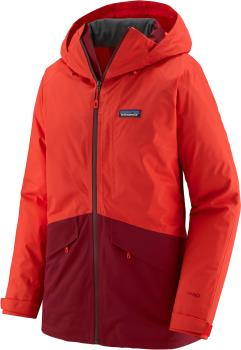Patagonia Insulated Snowbelle Women's Snowboard/Ski Jacket, S Coral