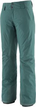 Patagonia Insulated Snowbelle Reg Women's Ski Pants, S Green