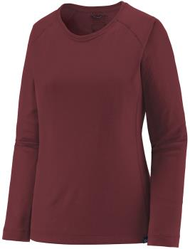 Patagonia Capilene Midweight Women's Thermal Crew, M Chicory Red