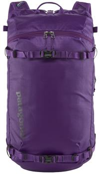 Patagonia Adult Unisex Descensionist 40l Ski Touring/Climbing Backpack, S/M Purple
