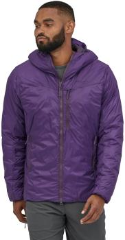 Patagonia DAS Light Hoody Insulated Water Resistant Jacket, L Purple