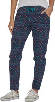 Patagonia Snap-T Pants Women's Micro Fleece Bottoms UK 16-18 New Navy