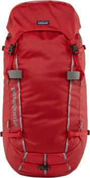 Patagonia Ascensionist Alpine Climbing Backpack, 55L L Fire