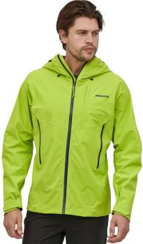 Patagonia Galvanized Waterproof Hardshell Jacket, L Peppergrass Green