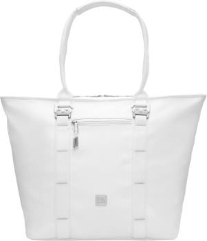 Douchebags The Sidekick PU Leather Tote Bag, 25L Whiteout