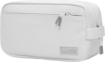 Douchebags The Vain PU Leather Travel Wash Bag, One Size Whiteout