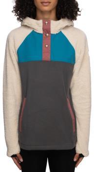 686 Hemlock Women's Fleece Hoody, L Birch Colourblock