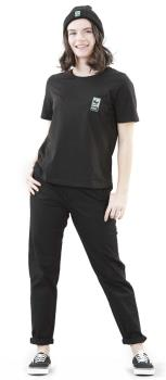 Picture WWF Logo Women's Short Sleeve T-Shirt, S Black