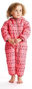 Dare 2b Bambino II Kid's Snowboard/Ski Snow Suit, Age 6-12M Pink