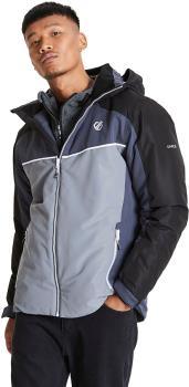 Dare 2b Observe Insulated Snowboard/Ski Jacket, S Aluminium/Black