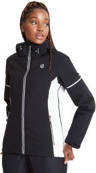 Dare 2b Enclave Women's Snowboard/Ski Jacket, UK 10 Black/White