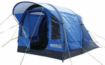 Regatta Kolima 3 Inflatable Camping Tent, 3 Man Nautical Blue