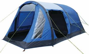 Regatta Kolima 5 Inflatable Family Camping Tent, 5 Man Blue