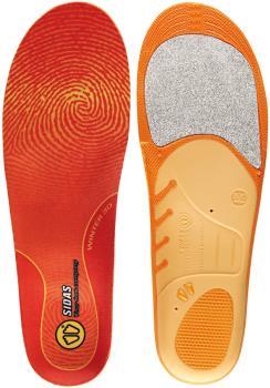 Sidas Winter 3D Snowboard/Ski Boot Insoles M Orange