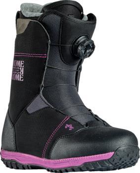 Rome Stomp BOA Women's Snowboard Boots, UK 5 Black 2021