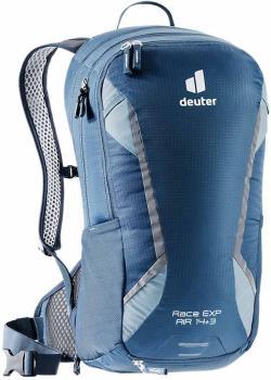 deuter Race EXP Air Daypack Cycling Backpack, 14L Marine/Dusk