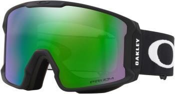 Oakley Line Miner L Prizm Jade Snowboard/Ski Goggles, L Black