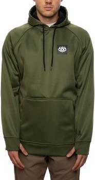 686 Bonded Fleece Men's Pullover Hoodie, XL Surplus Green