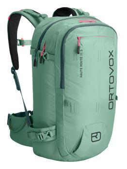 Ortovox Haute Route 30 S Ski/Snowboard Backpack, 30L Green Ice