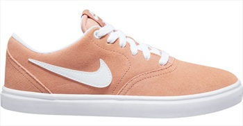Nike SB Check Solar Women's Skate Shoes Trainers, UK 7.5 Rose Gold