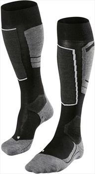 Falke SK4 Merino Wool Women's Ski Socks, UK 4-5 Black-Mix