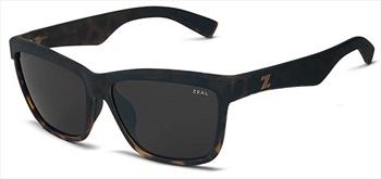 Zeal Kennedy Sunglasses Torched Tortoise Dark Grey