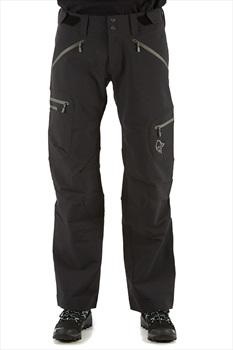 Norrona Svalbard Flex1 Pants, L Caviar/Castor Grey