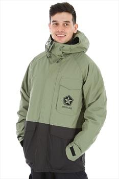Sessions Supply Ski/Snowboard Jacket, L Olive